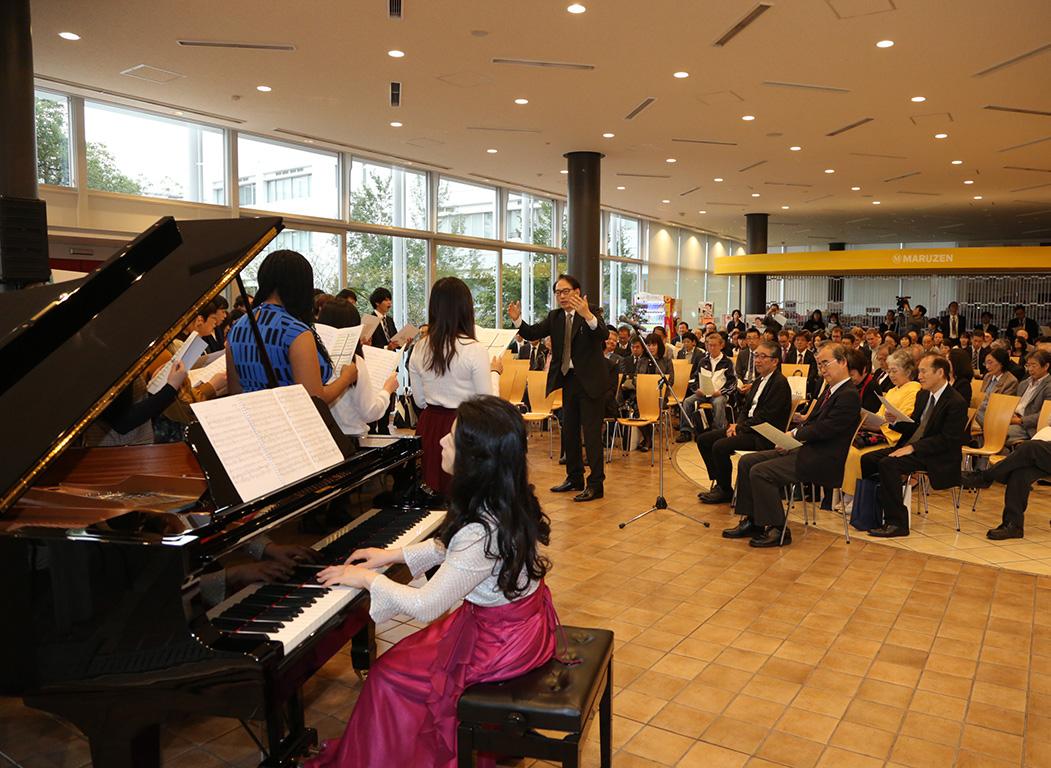 ピアノコンサート写真