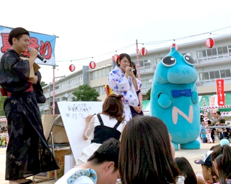 竹の山ふれあい夏祭り2019ビンゴ大会の様子