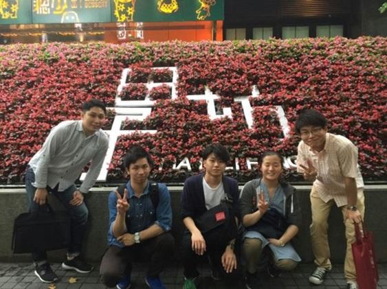 上海での写真